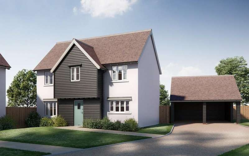 4 Bedrooms Detached House for sale in Colchester Road, White Colne