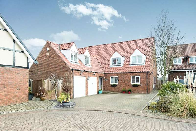 5 Bedrooms Detached House for sale in Rowernfields, Dinnington, Sheffield, S25