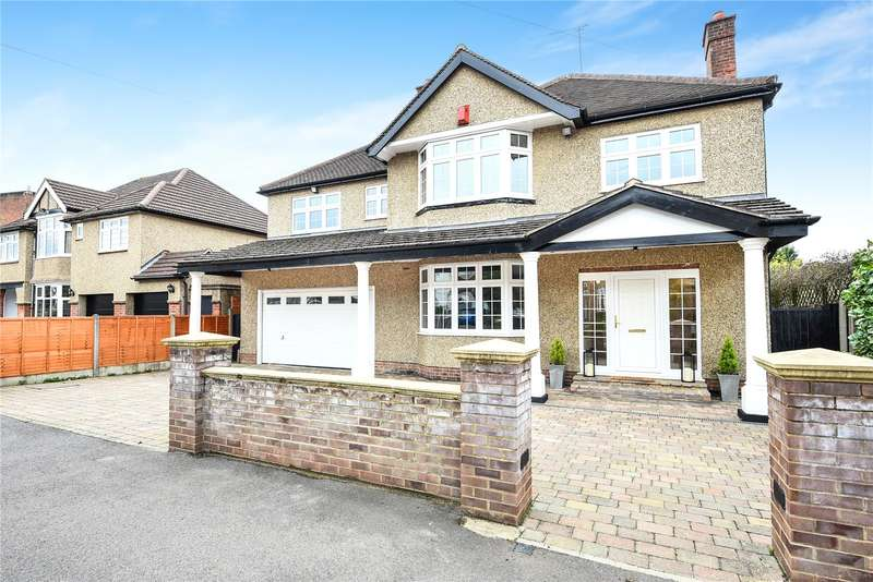 7 Bedrooms Detached House for sale in Cassiobury Drive, Watford, Hertfordshire, WD17