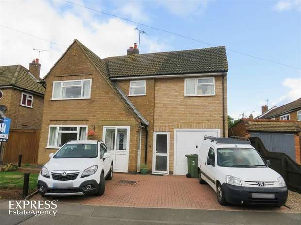 5 Bedrooms Detached House for sale in Keble Drive, Syston, Leicester