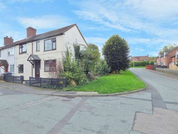 2 Bedrooms End Of Terrace House for sale in Park Lane, Madeley, Telford, Shropshire