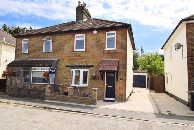 3 Bedrooms Semi Detached House for sale in Fairview Road, Taplow, SL6