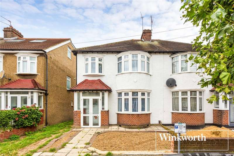 3 Bedrooms Semi Detached House for sale in Vines Avenue, Finchley, London, N3