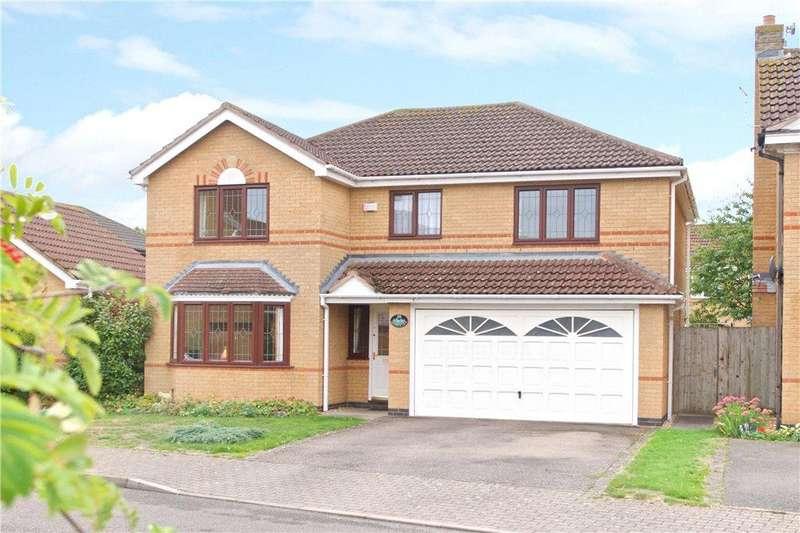 4 Bedrooms Detached House for sale in Gatewick Lane, Caldecotte, Milton Keynes, Buckinghamshire