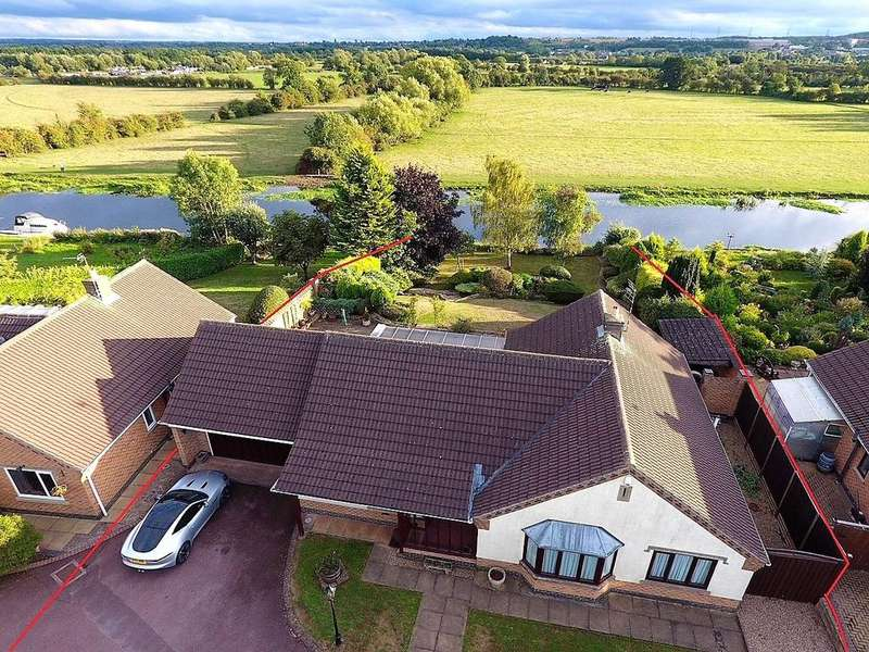 3 Bedrooms Detached Bungalow for sale in The Pastures, Barrow upon Soar, Loughborough