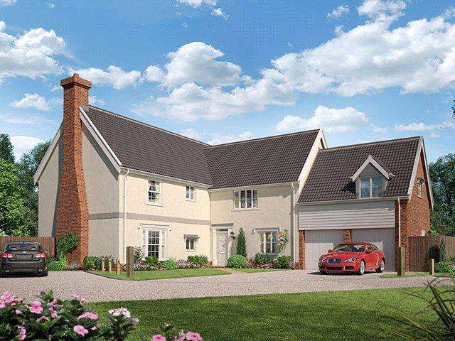 5 Bedrooms Detached House for sale in Cromer Road, Holt, Norfolk, NR25