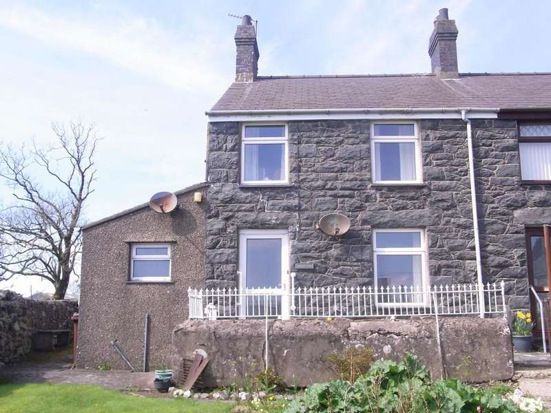 3 Bedrooms Semi Detached House for sale in Garndolbenmaen