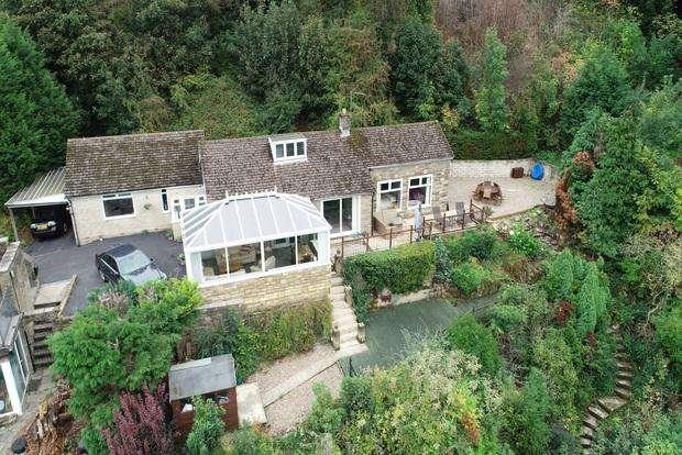 4 Bedrooms Detached Bungalow for sale in Woodside, Riber Road, Starkholmes, Matlock, DE4