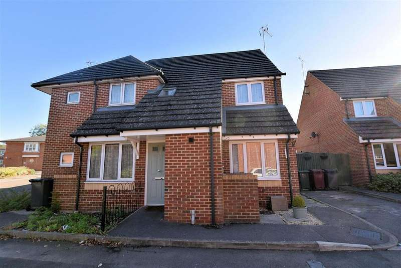 3 Bedrooms Semi Detached House for sale in Shilling Close, Tilehurst, Reading