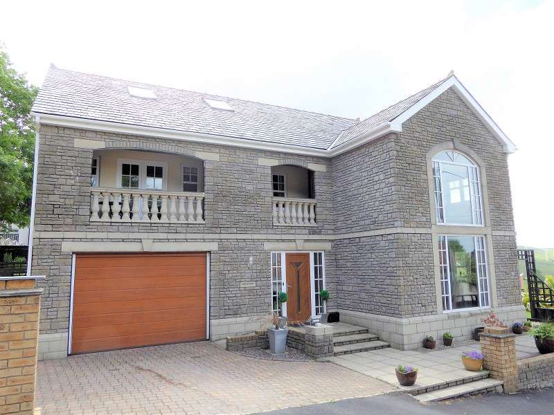 4 Bedrooms Detached House for sale in Hill Street, Porth, Rhondda Cynon Taff. CF39 8TW
