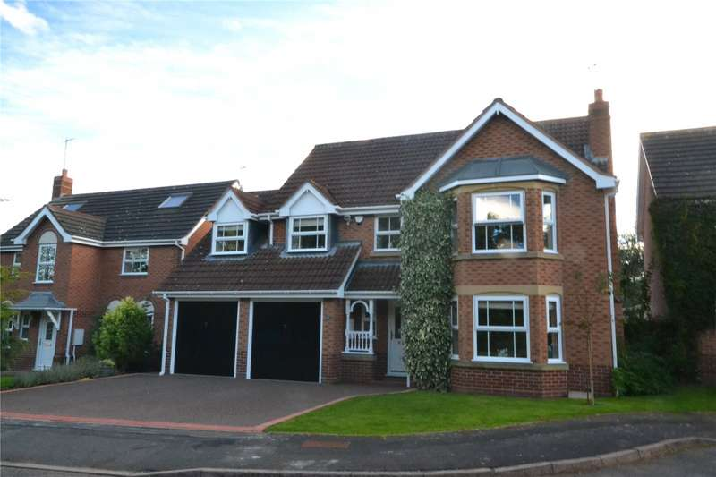 5 Bedrooms Detached House for sale in 3 Chilcombe Drive, Priorslee, Telford, TF2