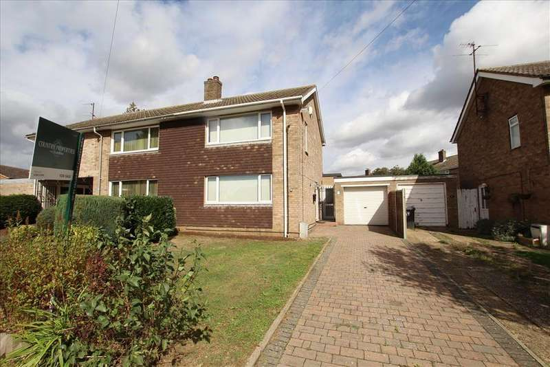 3 Bedrooms Semi Detached House for sale in Catherines Close, Potton, SG19