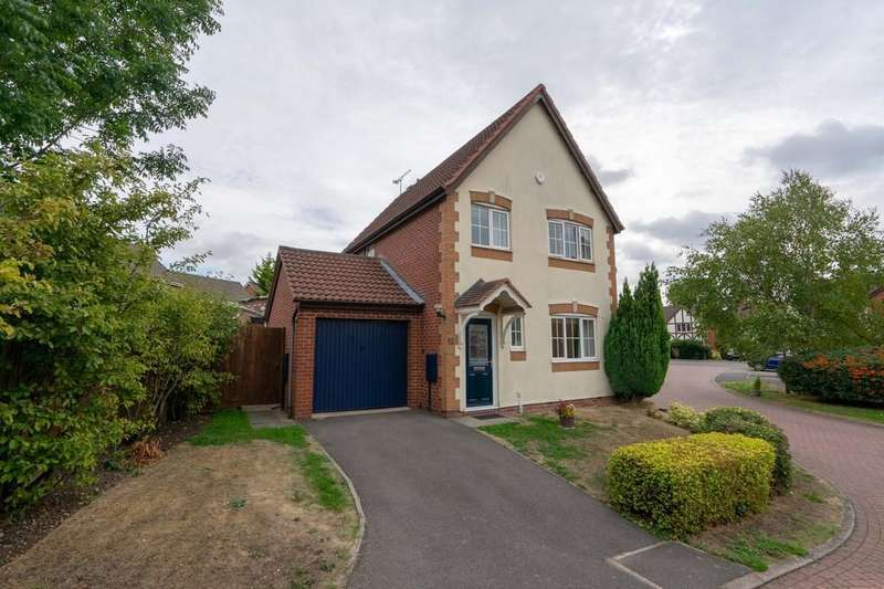 3 Bedrooms Detached House for sale in Orsett Close, Humberstone, Leicester