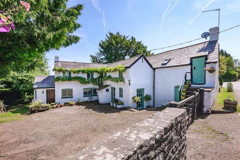 4 Bedrooms Detached House for sale in Kincoed, Usk, Monmouthshire