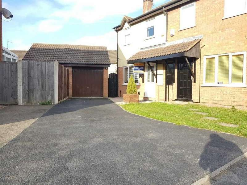 3 Bedrooms Semi Detached House for sale in Cheviot Road, Aylestone