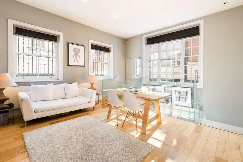 3 Bedrooms Ground Flat for sale in Dunraven Street, Mayfair, Lonodn, W1K