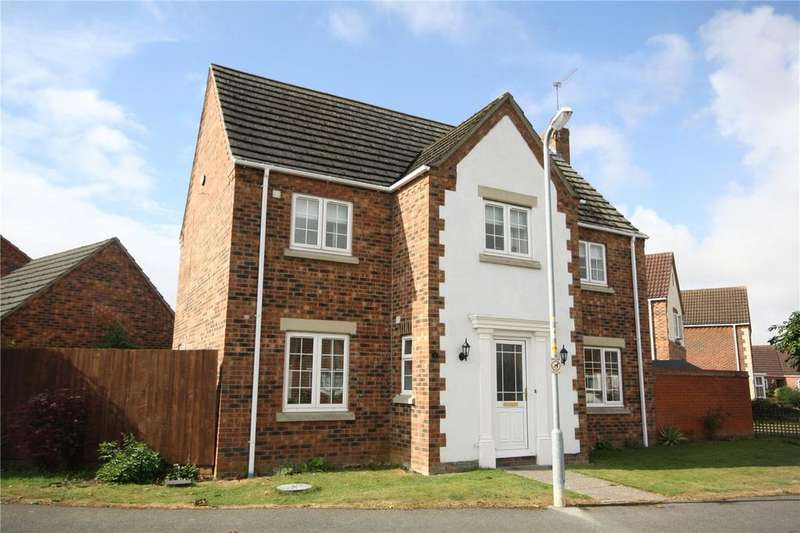 4 Bedrooms Detached House for sale in Hubbard Close, Heckington, Sleaford, Lincolnshire, NG34