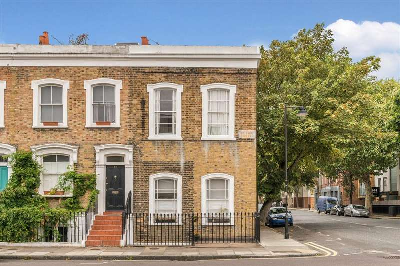 3 Bedrooms End Of Terrace House for sale in St Paul Street, Islington, London