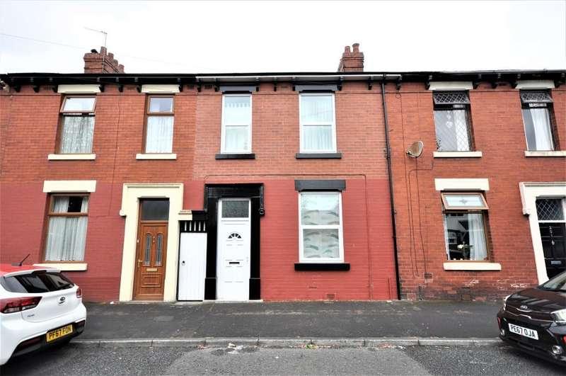 3 Bedrooms Terraced House for sale in Shelley Road, Ashton-on-Ribble, Preston, Lancashire, PR2 2BU