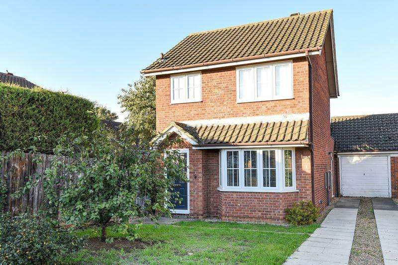 3 Bedrooms Detached House for sale in Cherry Tree Way, Ampthill