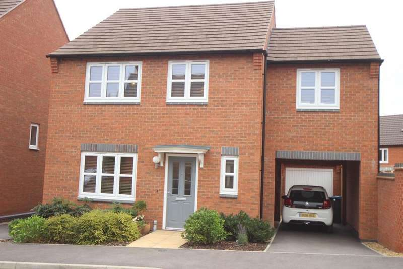 4 Bedrooms Detached House for sale in Olympic Way, Hinckley