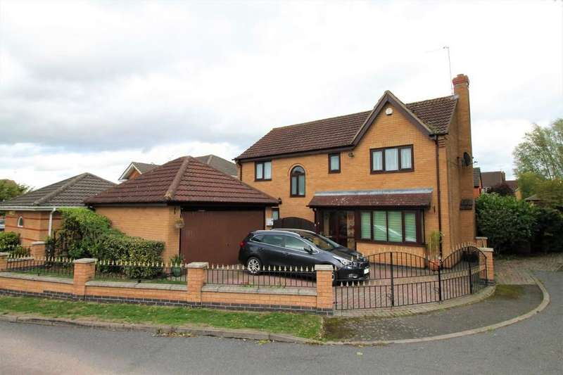 4 Bedrooms Detached House for sale in Rosemoor Close, Little Bowden