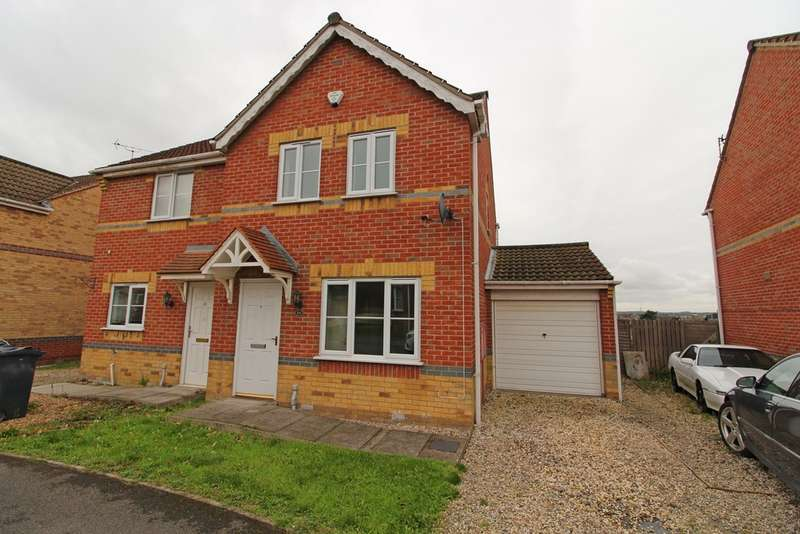 3 Bedrooms Semi Detached House for sale in Juniper Way, Gainsborough DN21