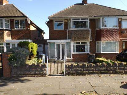 3 Bedrooms Semi Detached House for sale in Fowey Road, Hodge Hill, Birmingham, West Midlands