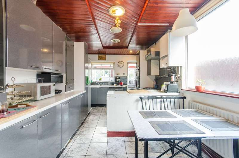 4 Bedrooms Semi Detached House for sale in Curzon Crescent, Harlesden, NW10