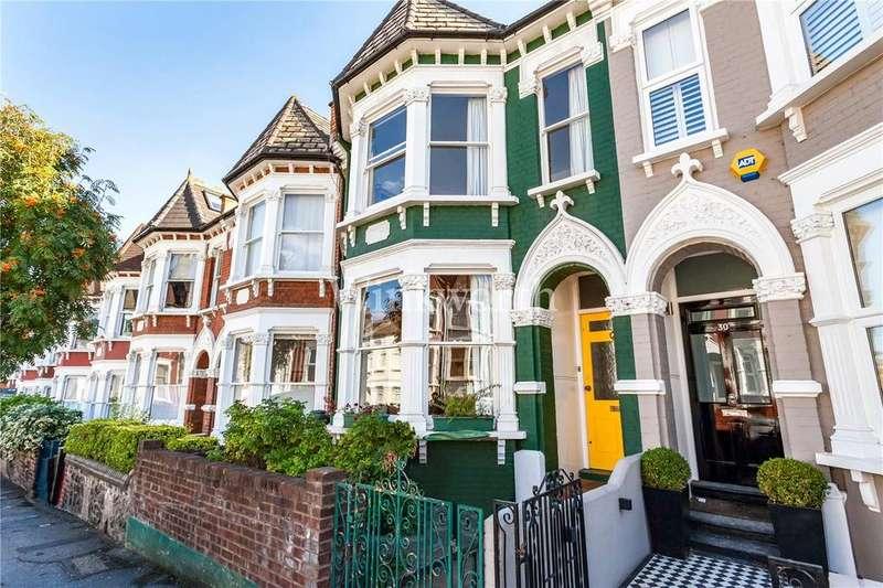 3 Bedrooms Terraced House for sale in Pemberton Road, Harringay, N4
