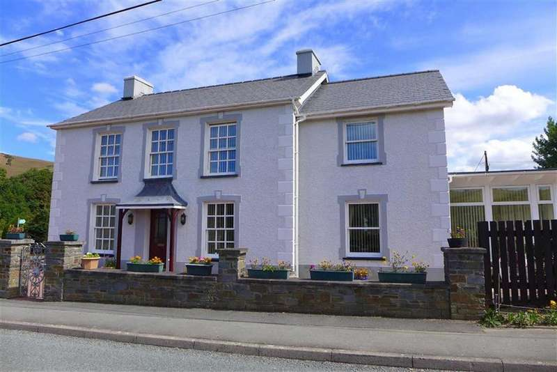 4 Bedrooms Detached House for sale in Capel Bangor, Aberystwyth, Ceredigion, SY23