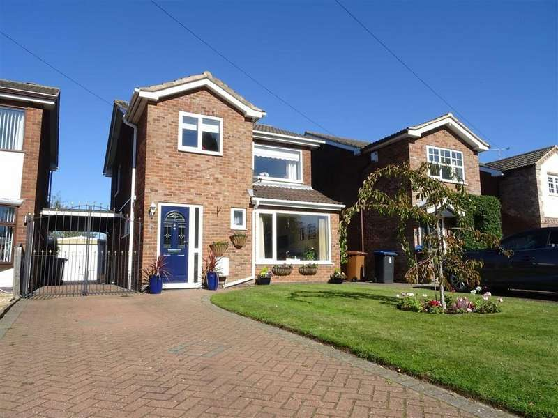 3 Bedrooms Detached House for sale in Aulton Way, Hinckley