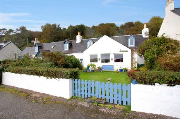 6 Bedrooms Semi Detached House for sale in Reraig, Kyle, Ross-Shire, IV40 8DH