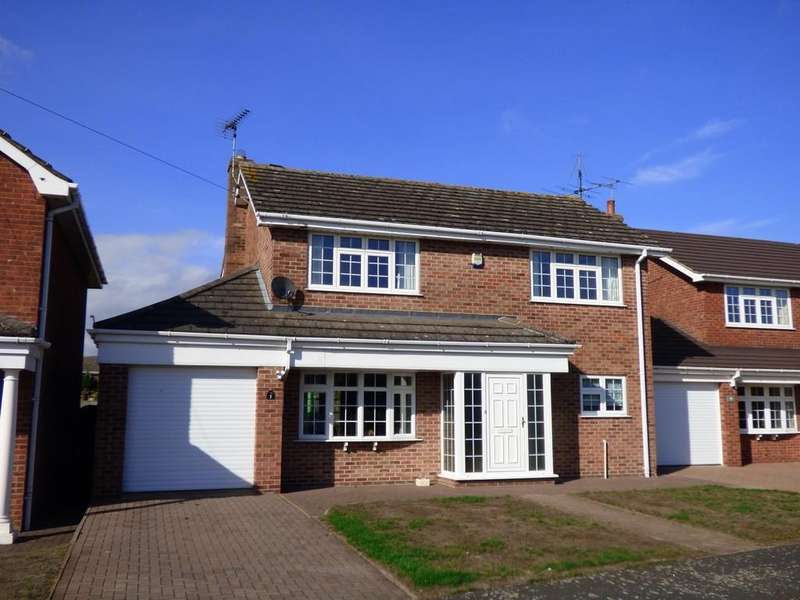 4 Bedrooms Detached House for sale in Saxon Way, Caistor