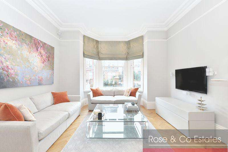 3 Bedrooms Ground Flat for sale in Canfield Gardens, South Hampstead, London