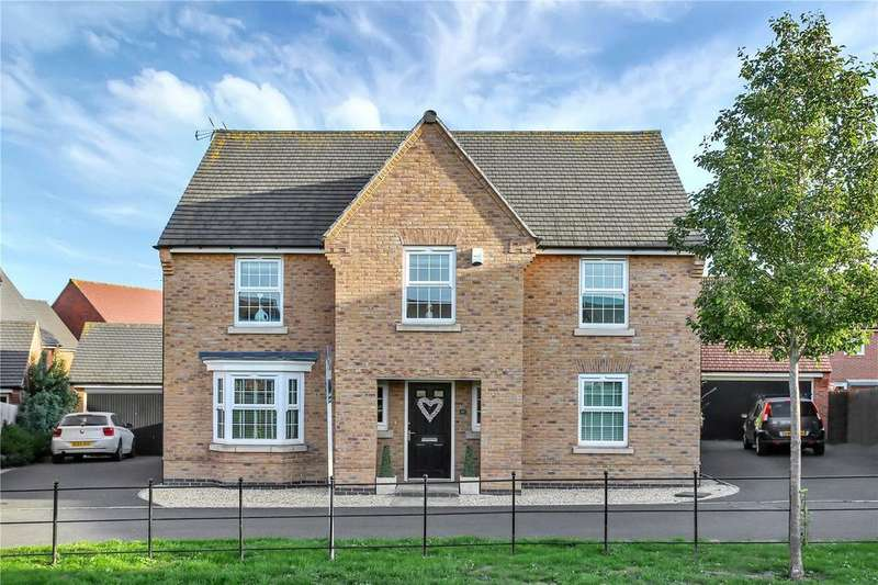 4 Bedrooms Detached House for sale in Woodroffe Way, East Leake, Loughborough