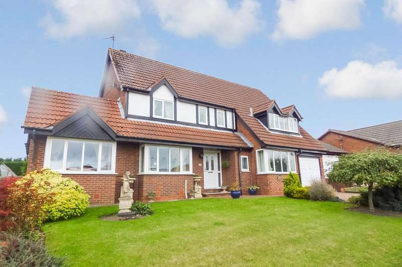 4 Bedrooms Detached House for sale in Humford Way, Bedlington, Northumberland, NE22 5ET
