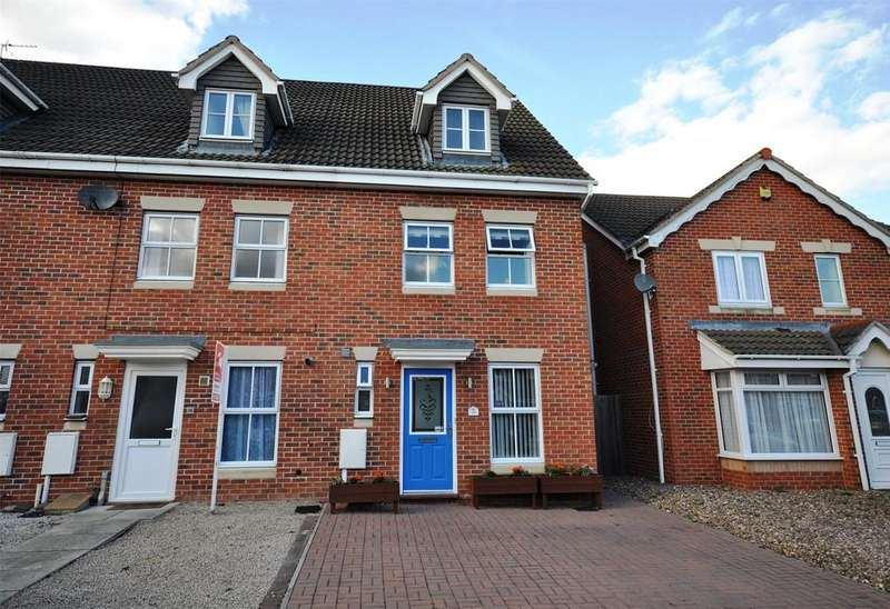 3 Bedrooms End Of Terrace House for sale in Ullswater Road, Melton Mowbray, Leicestershire