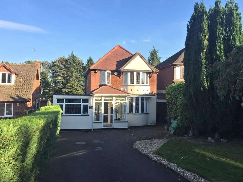 4 Bedrooms Detached House for sale in Bromsgrove Road, Hunnington, Halesowen, B62