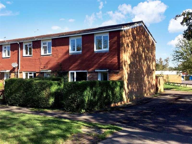 3 Bedrooms End Of Terrace House for sale in Gainsborough Road, Black Dam, Basingstoke, Hampshire, RG21