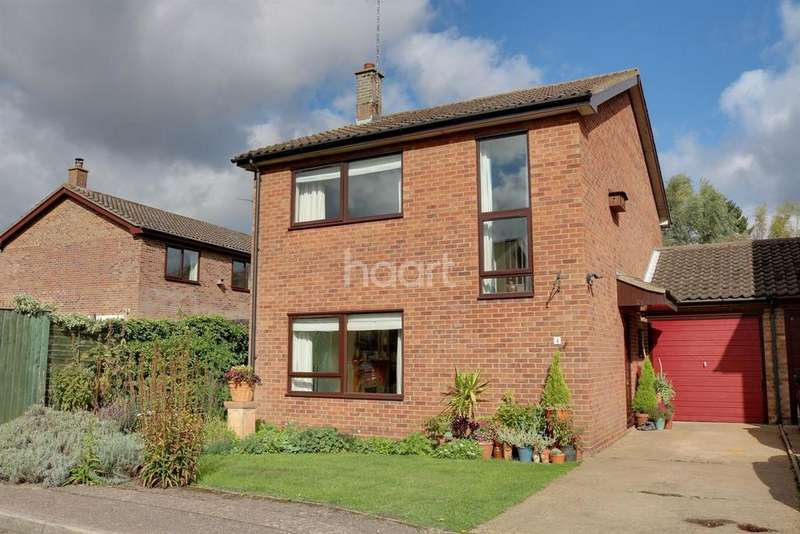 3 Bedrooms Detached House for sale in Anderson Close, Wisbech