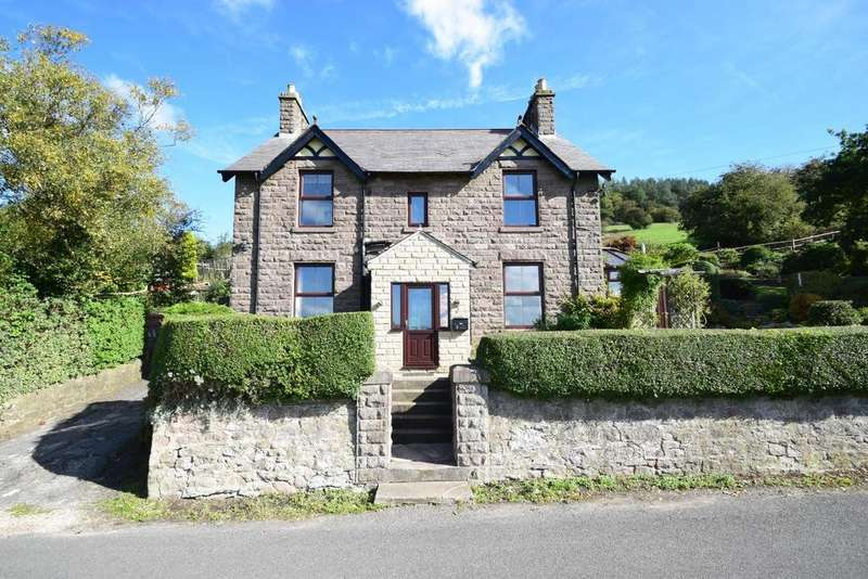 4 Bedrooms Detached House for sale in Byways, Oakerthorpe Road, Bolehill, Wirksworth
