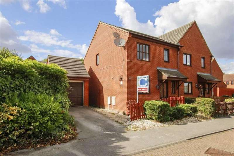 3 Bedrooms Semi Detached House for sale in Minorca Grove, Shenley Brook End, Milton Keynes