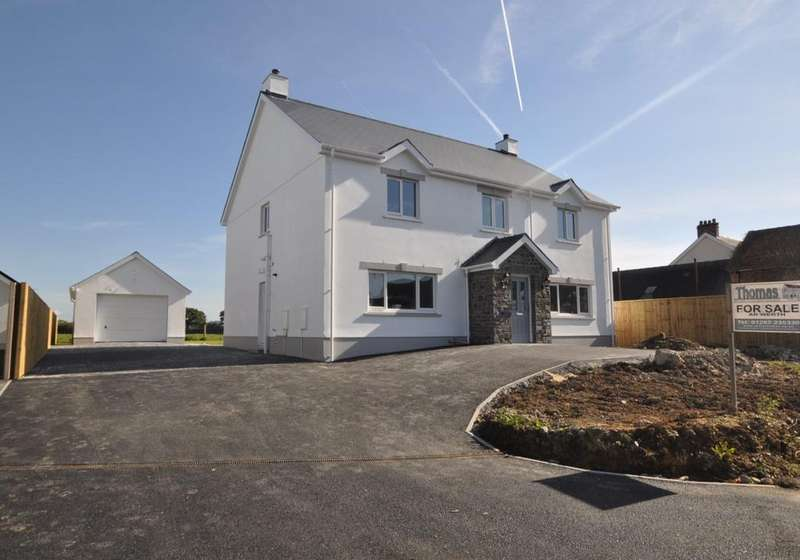 5 Bedrooms Detached House for sale in Plot 3 Salem Road, St Clears, Carmarthen