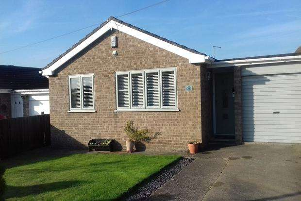 2 Bedrooms Detached Bungalow for sale in Seymour Avenue, Louth, LN11
