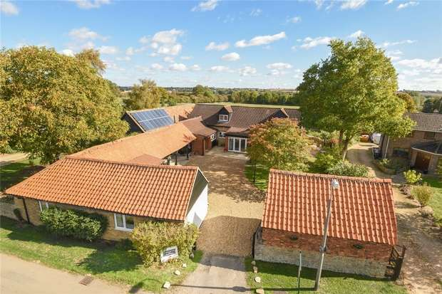 5 Bedrooms Cottage House for sale in Moor End Road, Radwell, Bedford