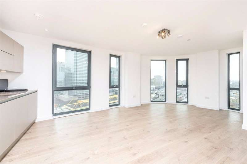 2 Bedrooms Apartment Flat for sale in Roosevelt Tower, Canary Wharf, E14
