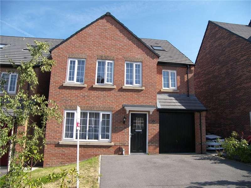 4 Bedrooms Detached House for sale in Weavers Way, South Normanton, Alfreton, DE55