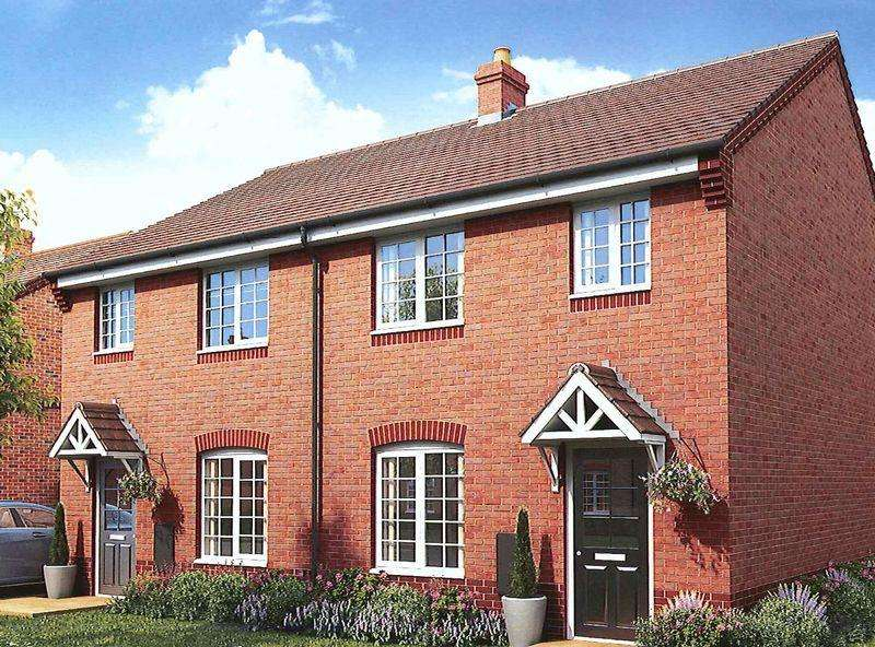 3 Bedrooms Semi Detached House for sale in Haycop Rise, Broseley, Shropshire.