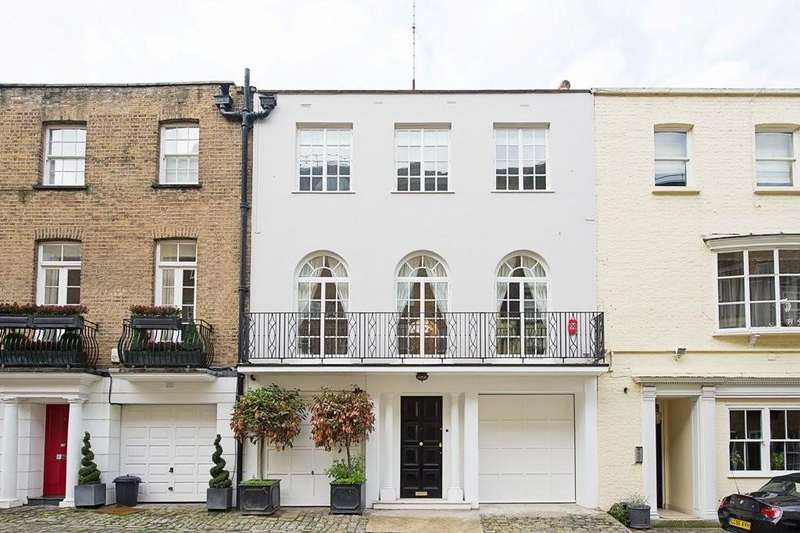 4 Bedrooms Terraced House for sale in Boscobel Place, London SW1